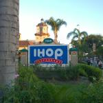 IHOP down the road