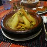 Local restaurant tagine