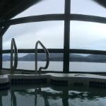 View from the Hot Tub at Brown's Bay RV Park
