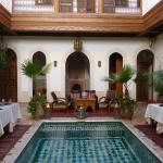 What a beautiful centre courtyard the riad has!