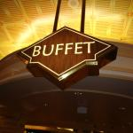 The bufet is open weekends