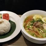 A good item on the Balinese food menu - forgot the name