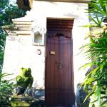 Entrance to our private villa