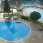 The pools from my room