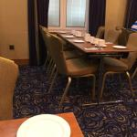 Eating breakfast in a conference room is not what you expect in a 4 Star London hotel