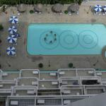 Swimming pool view from 11th floor