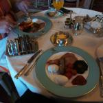 Breakfast at The Ritz