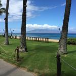 Kaanapali beach from hotel