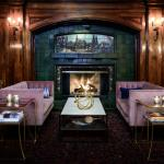 Enjoy craft cocktails in the Fireside Room