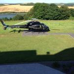 Helicopter on the Lawn