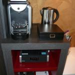 nespresso,mini bar...
