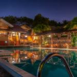 SMILING HILL POOL BY NIGHT