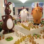 Easter Chocolate Display