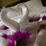 A sweet touch from the hotel