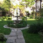 Beautiful Courtyard..  a great place to relax between site seeing