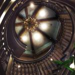 Staircase inside the Ritz at Reynolds Plantation