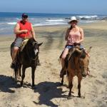Horseback riding with Manuel