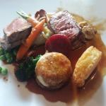 Beef fillet main course