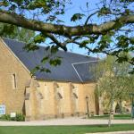 The tithe barn which hosts weddings