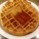 The perfect waffle according to me