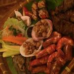 Fiji Restaurant Salo Salo Platter for two