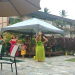 Restaurant and hula show on mondays