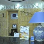 Reception of the Best Western hôtel colombe Oran