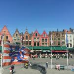 Grote Markt (a block from the Burg)