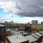 View from Penthouse Apt 904 towards Parliament House and Spring Street