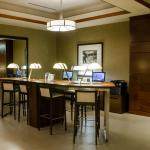 guest work station in lobby