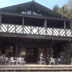 A great place to relax on the verandah of Redwood Inn