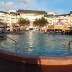 View of Boardwalk Poolside resort
