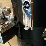 Jura Impressa C9 coffee maker w/fixed nozzle lever  (in front) repaired w/o asking