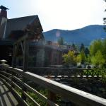 View of the Lodge from Train Station