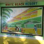 White Beach Resort, Bar and Restaurant Foto