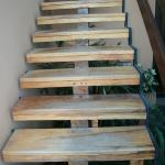 Another flight of stairs...