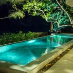 The pool at night -- it is gorgeous