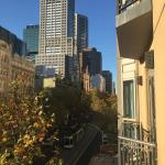 View of Collins St from our room