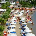 plenty of restaurants and water sports around the bay.. not far from Bodrum.
