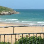 Beaches at Newquay Foto