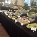 One side of the buffet