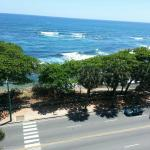 The view from the 14th floor. Executive suite was amazing. The sea is so welcoming and calming a