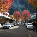 5 minutes walk from Melbourne Lodge B&B, Queenstown, NZ