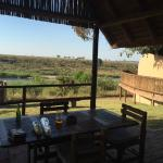 View of Crocodile River & Kruger from room