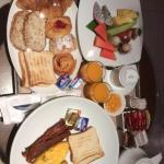 Room service American breakfast for 1 pax