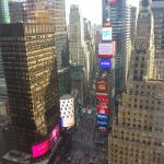 Room with view on Time Square