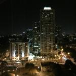Captured the City's night life from my hotel room! Splendid!