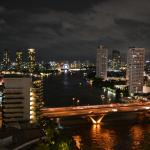 Night View of Chao Phraya River South