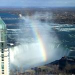 zoom on horseshoe falls from room 4556