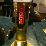 Lovely pint of keo. So refreshing
